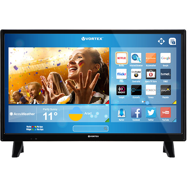 Televizor Led Smart Full Hd, 61cm, Vortex Ledv-24v287s