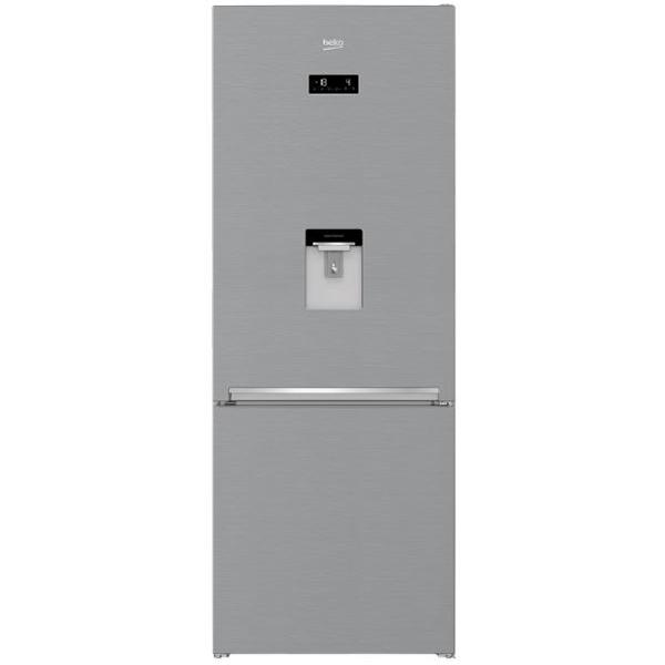 Combina Frigorifica Beko Rcne560e30dzxb, 497 L, 192 Cm, A++, Argintiu