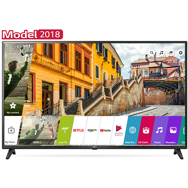 Televizor Led Smart Lg 49uk6200pla, Ultra Hd, Webos Ai, 4k Active Hdr, 123cm