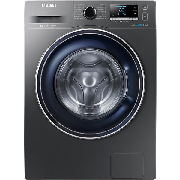 Masina De Spalat Rufe Frontala Samsung Ww80j5446fx/le, 8kg, 1400rpm, A+++