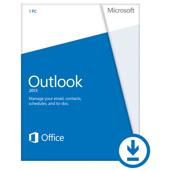 Licenta electronica ESD Microsoft Outlook 2013 engleza PKL Online DwnLd C2R NR