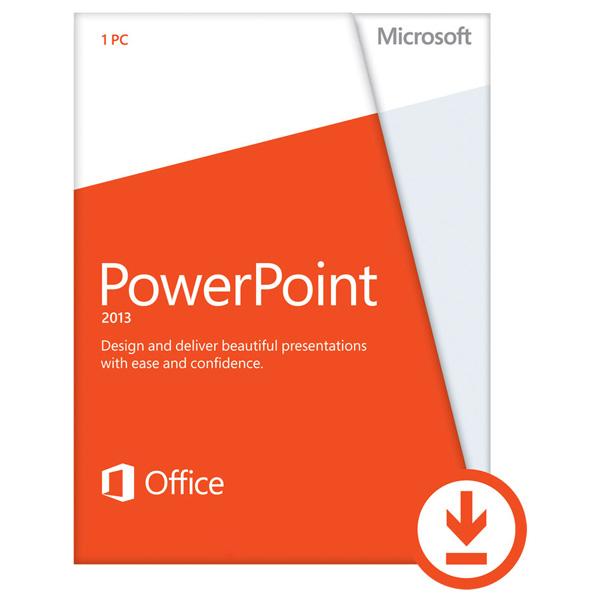 Licenta electronica ESD Microsoft PowerPoint 2013 32bit64bit engleza PKL Online DwnLd C2R NR