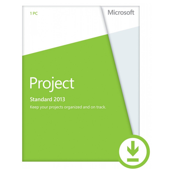 Licenta electronica ESD Microsoft Project Standard 2013 engleza PKL Online DwnLd C2R NR
