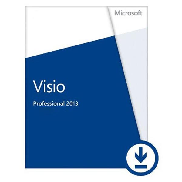 Licenta electronica ESD Microsoft Visio Professional 2013 engleza PKL Online DwnLd C2R NR