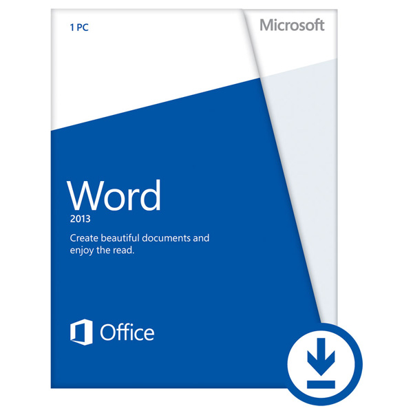 Licenta electronica ESD Microsoft Word 2013 32bit64bit engleza PKL Online DwnLd C2R NonCmcl NR