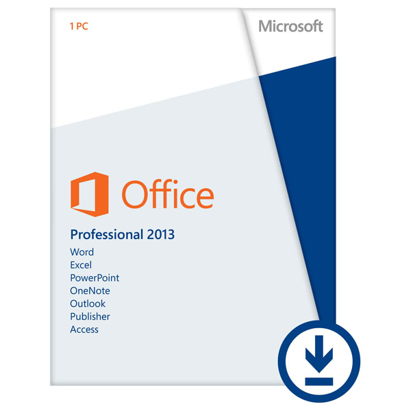 Licenta electronica ESD Microsoft Office Pro 2013 32bitx64 English PKL Online Eurozone DwnLd C2R NR
