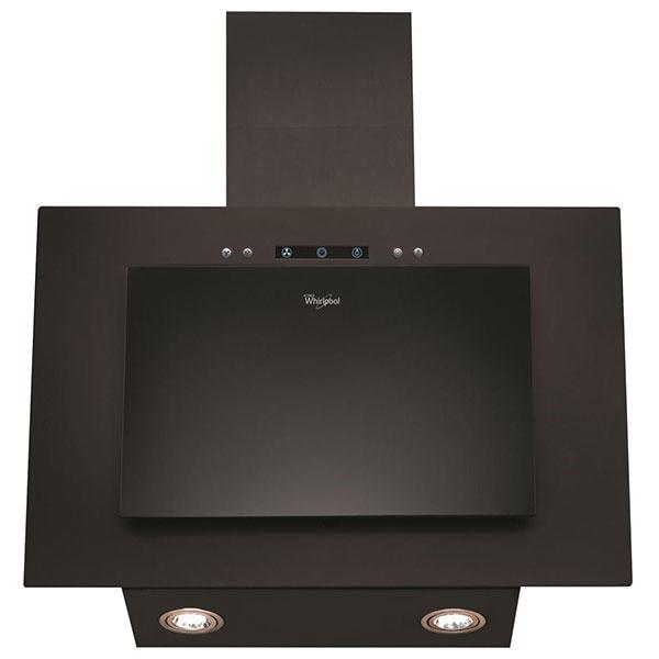 Hota Whirlpool Akr 036 G Bl, 400 M3/h, Touch Control, 3 Trepte De Viteza, 60 Cm, Negru