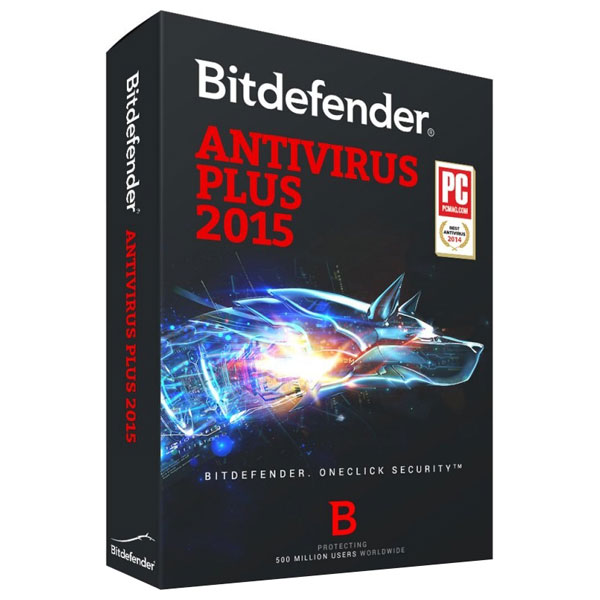 BITDEFENDER Antivirus Plus 2015 1 an 3 utilizatori Box