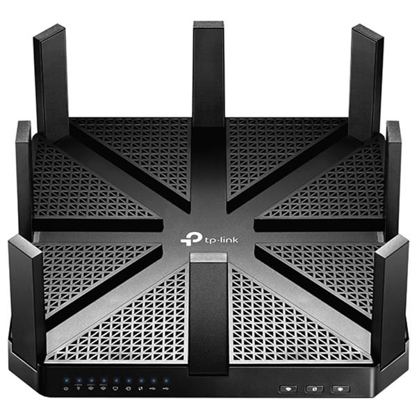 Router Wireless Ac5400 Tp-link Archer C5400, 1000 + 2167 + 2167 Mbps, Mu-mimo Gigabit, Usb 3.0, Negru
