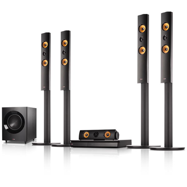 Sistem Home Cinema 51 LG BH7540TW 1200W