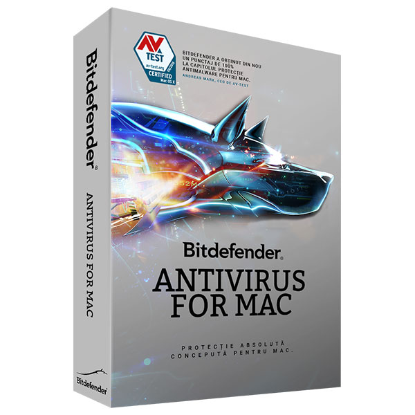Licenta electronica BITDEFENDER Antivirus for Mac 3 ani 1 Mac Licenta noua