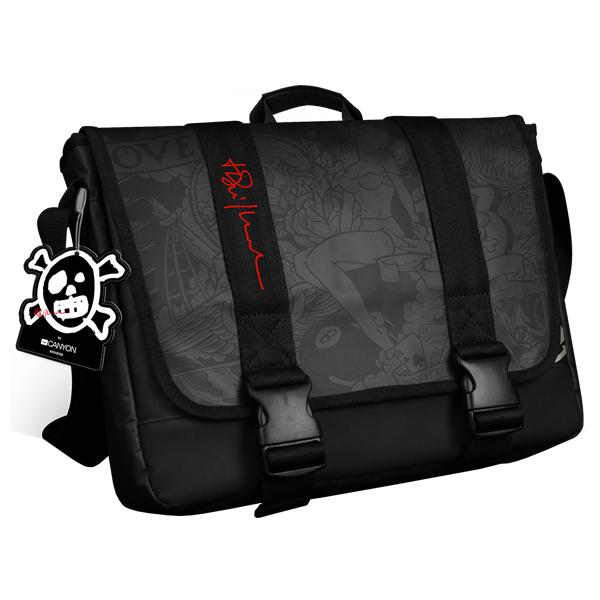 Geanta laptop CANYON CNLTNB09 16 Polyester negru