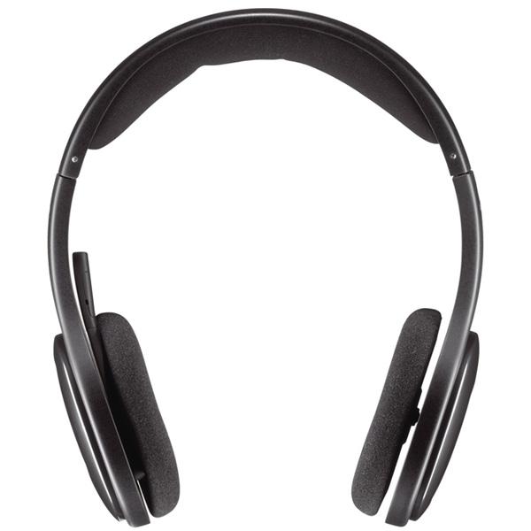 Casti Pc Wireless Logitech H800, Negru