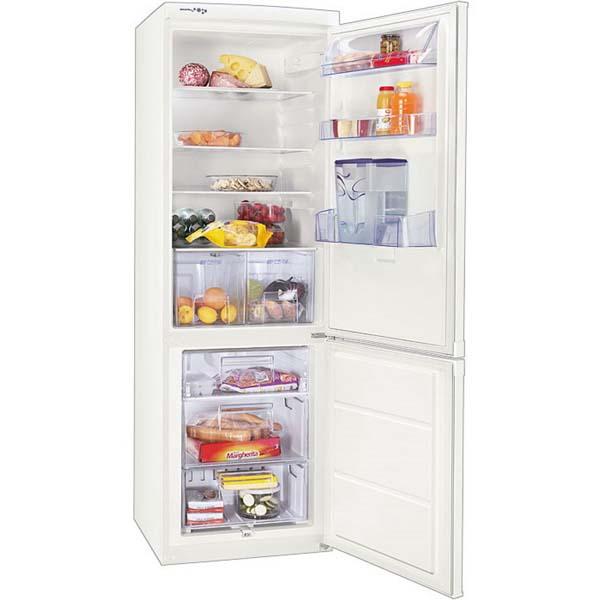 Combina frigorifica ZANUSSI ZRB836MW 337 l A alb