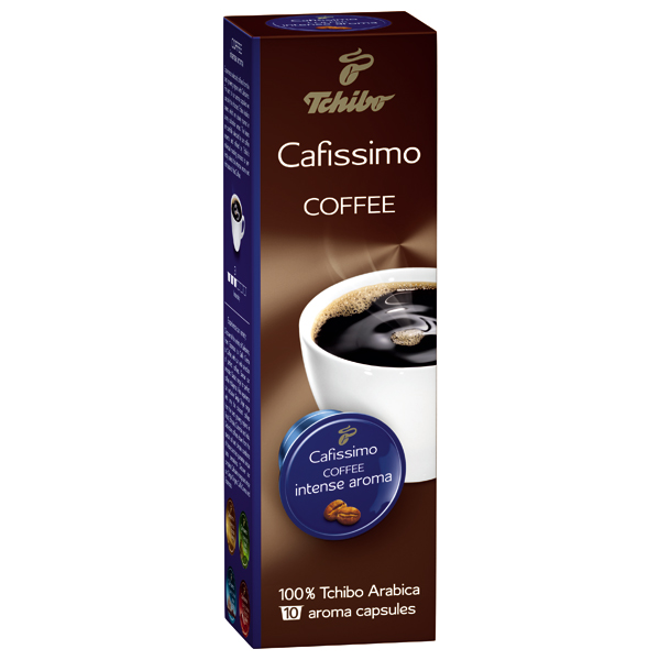tchibo cafissimo coffee intense aroma. Black Bedroom Furniture Sets. Home Design Ideas