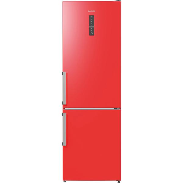 combina frigorifica no frost plus gorenje nrk6192mrd 307 l 185 cm a rosu. Black Bedroom Furniture Sets. Home Design Ideas