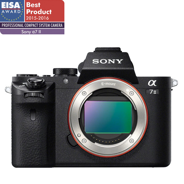 Camera Foto Digitala Mirrorless Sony A7 Ii Body, Full Frame, 24.3 Mp, 3 Inch, Negru