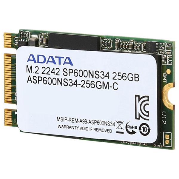 SolidState Drive ADATA Premier SP600NS 256GB M2 2242 SATA3 ASP600NS34256GMC