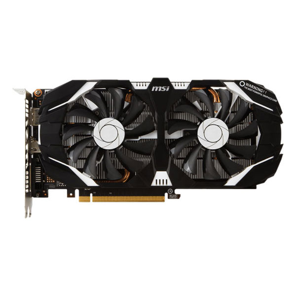 Placa Video Msi Nvidia Geforce Gtx 1060 3gt Oc, 3gb Gddr5, 192bit, Gtx 1060 3gt Oc