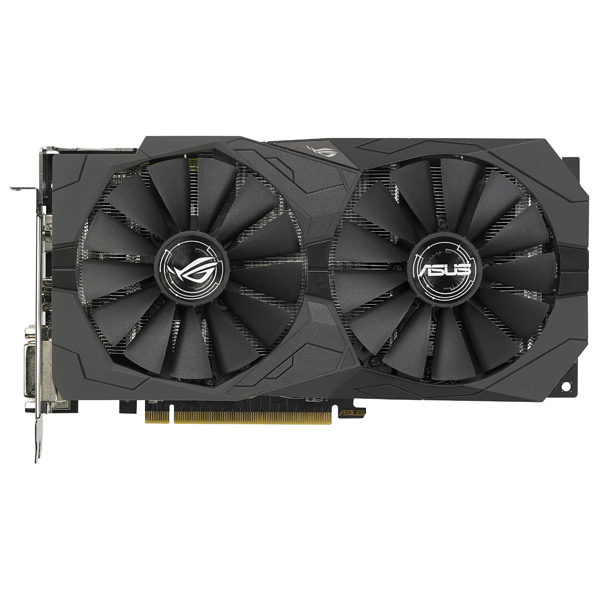 Placa Video Asus Amd Radeon Rx 570 Strix Gaming, 4gb Gddr5, 256bit, Rog-strix-rx570-o4g-gaming