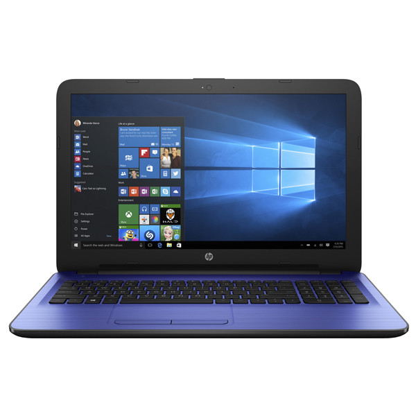 "Laptop HP 15-ay100nq, Intel® Core™ i5-7200U pana la 3.1GHz, 15.6"", 4GB, 500GB, Intel® HD Graphics 620, Windows 10"