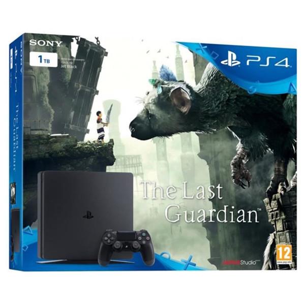 Consola Sony Playstation 4 SLIM, 1TB, negru + The Last Guardian