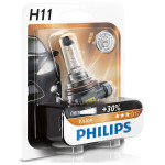 Bec auto PHILIPS H11 Vision+30%, 55W, blister 1 bucata