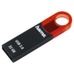 Memorie portabila HAMA Varius FlashPen 124165, 32GB, negru-rosu