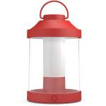 Lampa de masa PHILIPS myGARDEN Abelia 17360/30/P0, 1X3W, red