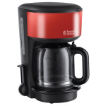 Cafetiera RUSSELL HOBBS Flame Red 20131-56, 1.25l, 10 cesti, 1000W, rosu