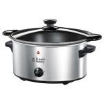 Slow Cooker RUSSELL HOBBS Cook@Home Searing 22740-56, 3.5 l, 2 setari gatit, mentinere la cald, tigaie prajit, inox