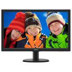 "Monitor LED PHILIPS 243V5QSBA/00, 23.6"", Full HD, negru"