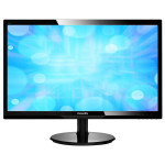 "Monitor LED PHILIPS 246V5LHAB/00, 24"", Full HD, negru"
