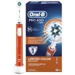 Periuta de dinti cu acumulator ORAL-B PRO 400 Cross Action, portocaliu