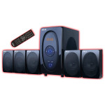 Boxe AKAI 5117, 5.1, 80W, Bluetooth, negru