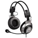 Casti PC HAMA HS-400 53988, 3.5 mm, negru-argintiu