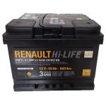 Baterie auto RENAULT 7711130088, 50Ah, 600A, 12V