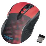 Mouse Wireless HAMA Knallbunt 2.0, 2000dpi, rosu