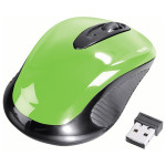 Mouse Wireless HAMA AM-7300, 1000dpi, verde