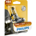 Bec auto far halogen PHILIPS HB4 Vision+30%, 12V, 55W, P22d, blister 1 bucata