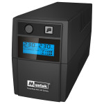 Unitate UPS MUSTEK PowerMust 636 LCD, 650V/360W, LCD Line Int., Schuko
