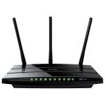 Router wireless TP-LINK Archer C7, Dual-Band 450 + 1300Mbps, WAN, LAN, USB 2.0, negru