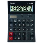 Calculator de birou CANON AS-1200, 12 cifre, negru