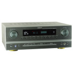 Receiver AKAI AS005RA-750BT, Bluetooth, argintiu