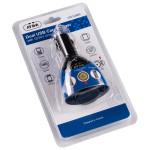 Incarcator auto adaptor 1 bricheta + 2 USB AVLINK CIG1USB2