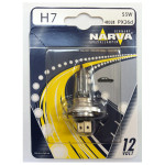 Bec auto far halogen NARVA 483284000, H7 standard, 12V, 55W, PX26d, blister 1 bucata