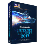 Antivirus BITDEFENDER Internet Security 2017, 1 an, 1 PC, Retail