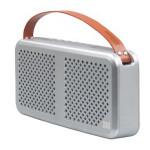 Boxa portabila PROMATE Radiant, 15W, Bluetooth, argintiu
