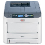 Imprimanata laser color OKI C610dn, A4, USB, Retea, alb