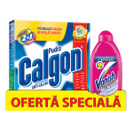 CALGON Pudra 1kg + VANISH OxiAction 450ml